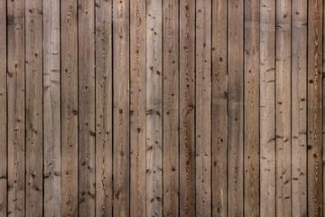 Holzwand aus Holzbrettern als Hintergrund