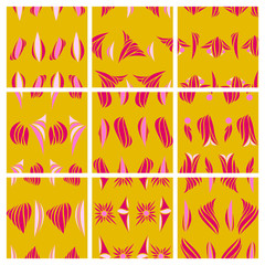 Vector abstract simple pattern hand drawn for your design