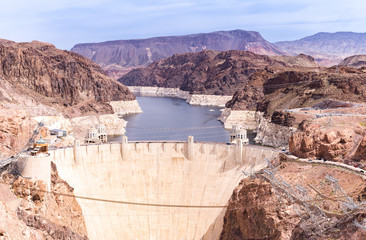 Photo sur Aluminium Barrage Hoover dam USA