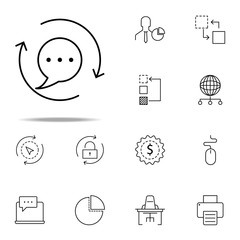 communion icon. business icons universal set for web and mobile