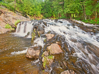 Wall Mural - Falls River Lanse Michigan Panorama