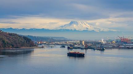 Tacoma Port Scene 2