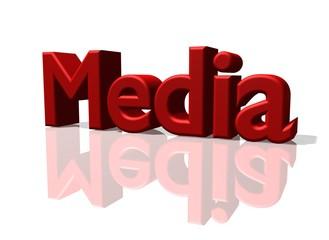 Media Schriftzug