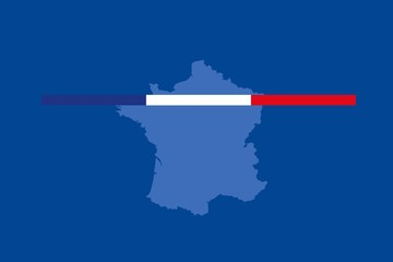 Fototapete - Annonce française
