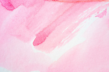 pink background watercolor texture on paper