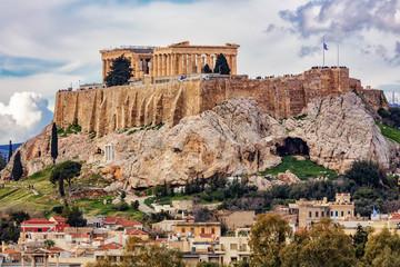 Autocollant pour porte Athènes The Athens Acropolis
