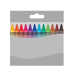 Color wax box mockup.