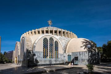 Foto op Aluminium Theater Äthiopien - Aksum - St. Maria von Zion