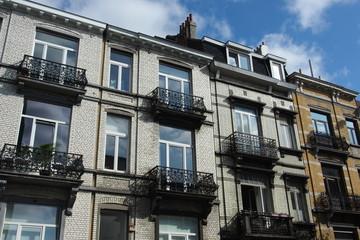 Altbaufassaden Brüssel