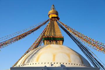 Boudhanath stupa, Kathmandu city, buddhism in Nepal