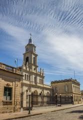 Church in the center of San Antonio de Areco, Argentina