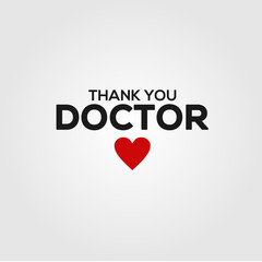 thank you doctor vector design