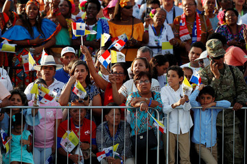 Pope Francis visits Panama for World Youth Day
