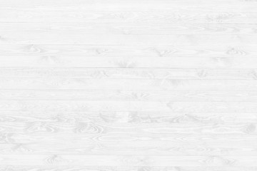 White wood texture background top view. Light wooden surface backdrop.