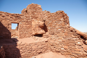 Wupatki National Monument is located approximately 30 miles north of Flagstaff, AZ in the picturesque high desert region just west of the Little Colorado River and the Navajo Indian Reservation.