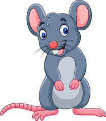 Cartoon funny mouse
