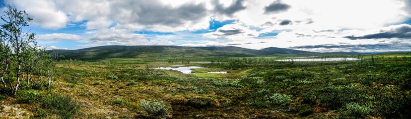 Fototapeta Lapland wilderness panorama