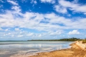 Beach At St Helena Island In Brisbane, Queensland, Australia