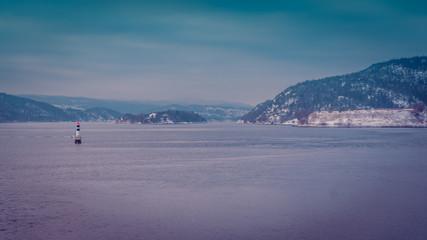Drøbak krajobraz landscape fiord Norwegia Norway Norge