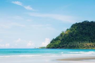 Sand beach in island.