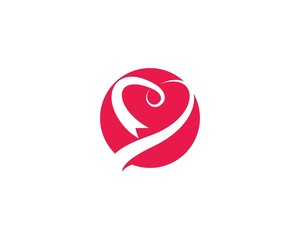Breast cancer awareness,ribbon logo vector