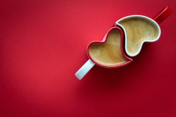 Obraz Kawa dla zakochanych - fototapety do salonu