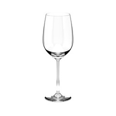 Wine glass. 3d rendering illulstration