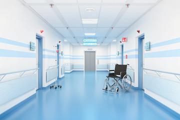 Flur in einem Krankenahus
