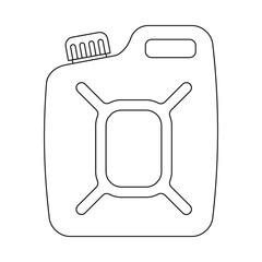 Isolated object of oil and gas sign. Collection of oil and petrol stock symbol for web.