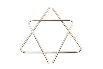 Musical instrument - metallic triangle