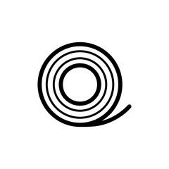 Medical Bandaid icon. isolated on white background