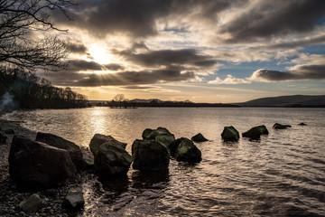 Sunset at Loch Lomond, Scotland