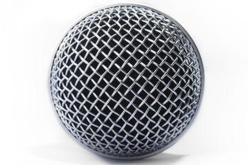 Microphone round mesh