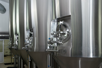 Stainless steel for lager beer