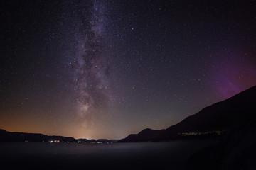 Norwegen Nationalpark Milchstraße