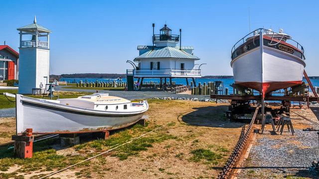Lighthouse on Kent Island Maryland
