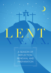 Lent, time of repentance, fasting and preparation