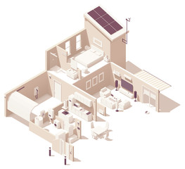 Vector isometric smart home