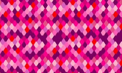 Snake skin texture print design. Seamless pattern with pink snakeskin,  Animal print seamless background