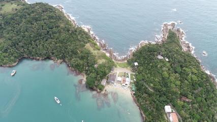 A Natureza de Bombinhas visto de Cima