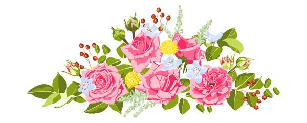 Vintage Roses Collection for Wedding Design.