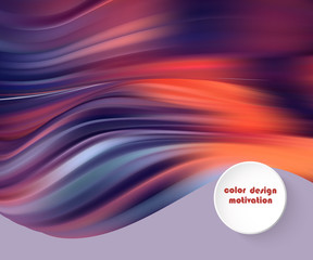 Modern colorful flow poster. Wave Liquid shape in blue color background. Art design for your design project.