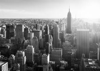 Fotomurales - New York City in Schwarz Weiss, USA