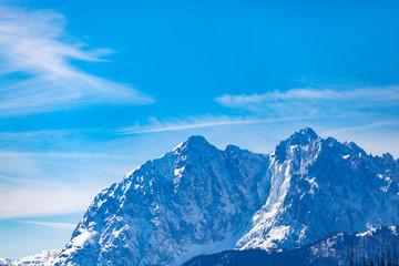 Tiroler Alpen im winter