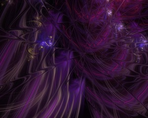 abstract digital fractal, fantasy design, disco