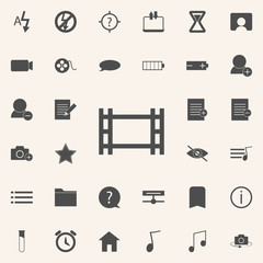camera roll icon. web icons universal set for web and mobile