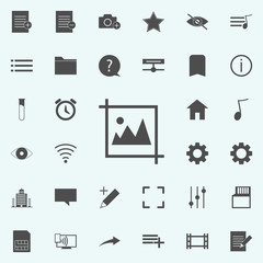 picture icon. web icons universal set for web and mobile