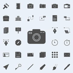 camera icon. web icons universal set for web and mobile