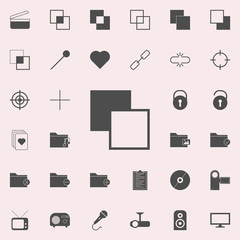 different layers icon. web icons universal set for web and mobile