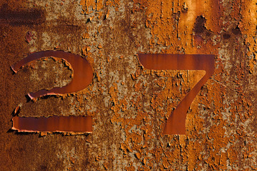 A rusty number 27